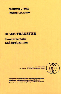 Cover of the book Mass transfer: fundamentals and applications