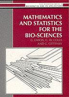 Cover of the book Mathematics and statistics for the biosciences. (paper) (EH)