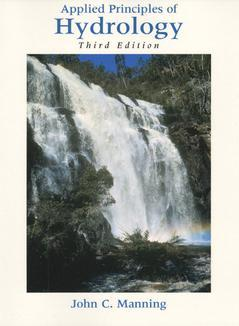 Cover of the book Applied principles of hydrology (3rd ed' 96)