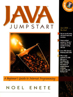 Cover of the book Java jumpstart : a beginner's guide to Internet programming (book/CD)