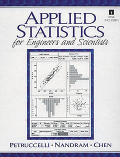 Cover of the book Applied statistics for scientists and engineers