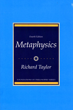 Cover of the book metaphysics
