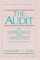 Cover of the book Audit : its environment & applications