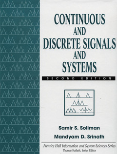 Cover of the book Continuous & discrete signals & systems, 2nd ed 1997