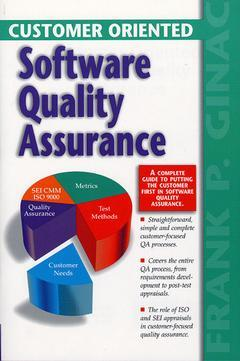Cover of the book Customer oriented software quality assurance