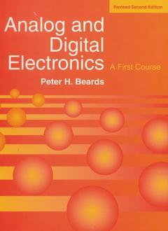 Cover of the book Analog and digital electronics, revised 2nd ed. 96 (paper)