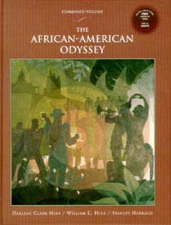 Cover of the book African-american odyssey with audio cd, the