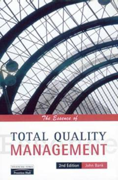 Cover of the book Essence of total quality management, 2nd ed 1997 (paper)