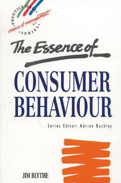 Cover of the book Essence of consumer behaviour