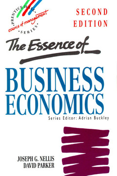 Cover of the book Essence of business economics, 2nd ed 1997
