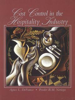 Cover of the book Cost control in the hospitality industry
