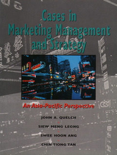 Cover of the book Cases in marketing management and strategy