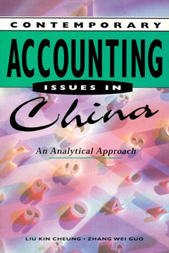 Cover of the book Accounting issues in china