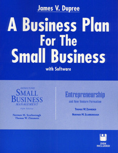 Cover of the book Effective small business / business plan (paper)