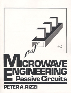 Cover of the book Microwave engineering : Passive circuits (Print on demand)