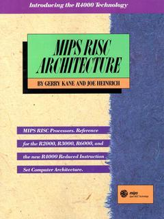 Cover of the book MIPS risc architecture (Paper)
