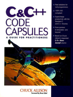 Cover of the book C & C++ code capsules : a prescription for your software aliments (book/disk)