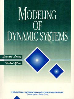 Cover of the book Modeling of dynamic systems