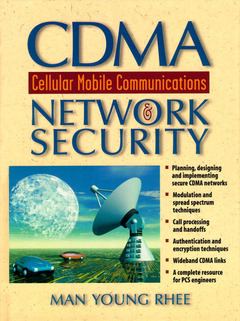Cover of the book CDMA cellular mobile communications and network security