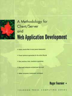 Cover of the book A methodology for client/server and web application
