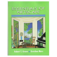 Cover of the book Essentials of Netscape (paper)