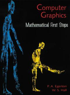Cover of the book Computer graphic: first mathematical steps (paper)