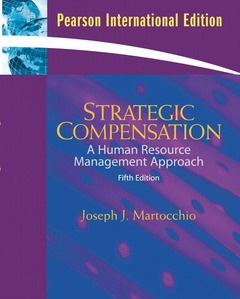 Cover of the book Strategic compensation:international edition
