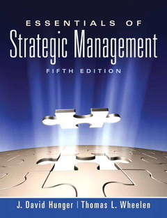 Cover of the book Essentials of strategic management (5th ed )