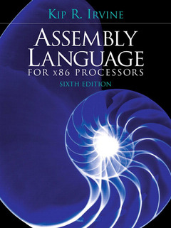 Cover of the book Assembly language for x86 processors (6th ed )