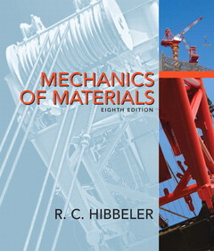 Cover of the book Mechanics of materials (8th ed )