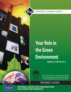 Cover of the book Your role in the green environment tg update (1st ed )