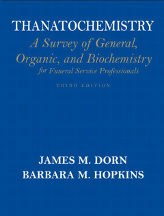 Cover of the book Thanatochemistry (3rd ed )