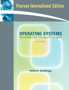 Cover of the book Operating systems: Internals & design principles