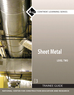 Cover of the book Sheet metal level 2 trainee guide, perfect bound (3rd ed )