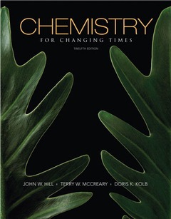Cover of the book Chemistry for changing times (12nd ed )