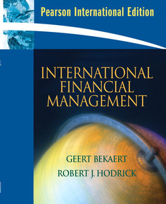 Cover of the book International financial management (PIE)