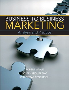 Cover of the book Business to business marketing (1st ed )