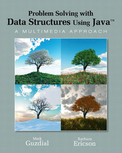 Cover of the book Problem solving with data structures using Java