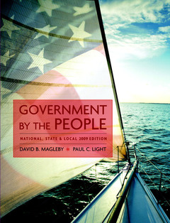 Cover of the book Government by the people, national, state, and local, 2009 edition (23rd ed )