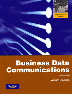 Cover of the book Business data communications