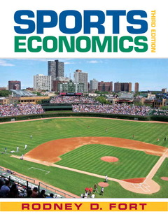 Cover of the book Sports economics (3rd ed )