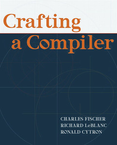 Cover of the book Crafting a compiler (1st ed )