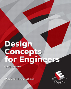 Cover of the book Design concepts for engineers
