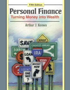 Cover of the book Student workbook for personal finance