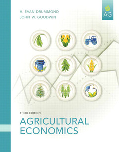 Cover of the book Agriculture economics (3rd ed )