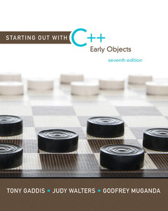 Cover of the book Starting out with c++ (7th ed )