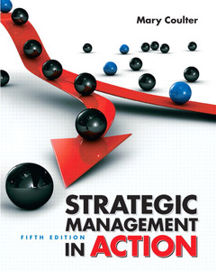 Cover of the book Strategic management in action