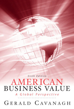 Cover of the book American business values (6th ed )