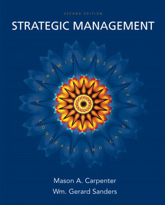 Cover of the book Strategic management (2nd ed )