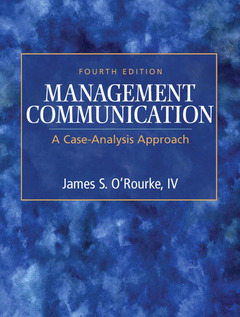 Cover of the book Management communication